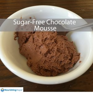 Sugar-free-chocolate-mousse
