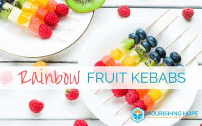 Rainbow Fruit Kebabs: Healthy Treats for Kids