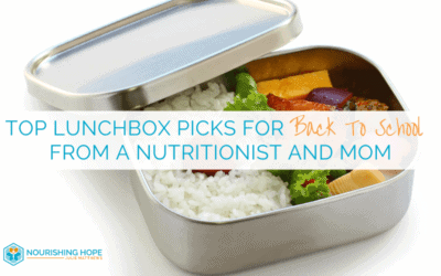 Top Lunchbox Picks for Back to School from a Nutritionist and Mom